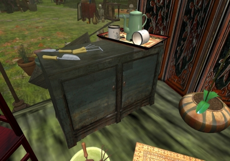 Heibei Blue Buffet - 2 Prims (copy/mod)
