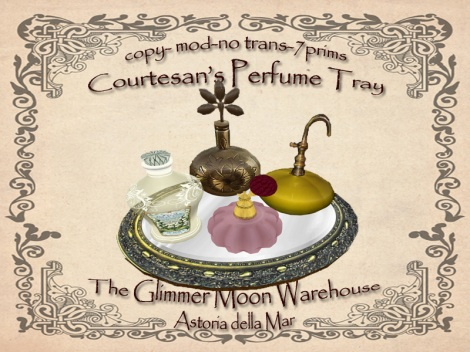 The Courtesan's Perfume Tray