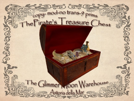 Pirate Treasure Chest Ad