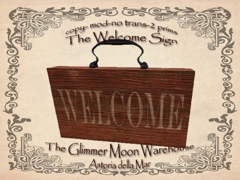 Welcome Sign Ad